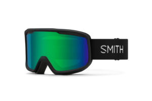 Smith Frontier Black Green Sol-X Mirror skidglasögon med spegel lins