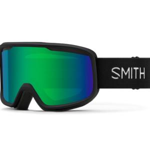 Smith Frontier Black Green Sol-X Mirror skidglasögon med spegel lins