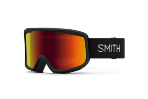 Smith Frontier Black Red Sol-X Mirror goggles med cool spegel lins
