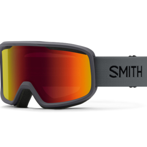 Smith Frontier Charcoal Red Sol-X Mirror skidglasögon i cool design
