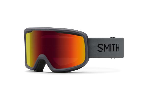 Smith Frontier Charcoal Red Sol-X Mirror skidglasögon i cool design