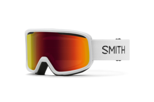 Smith Frontier White Red Sol-X Mirrorcoola skidglasögon