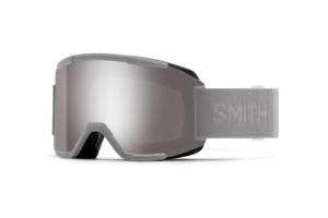Smith Squad Cloudgrey Chromapop Sun Platinum Mirror skidglasögon med snygg spegel lins