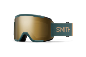 Smith Squad Spruce Safari Chromapop Sun Black Gold Mirror coola skidglasögon med bra ins