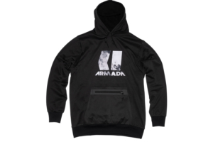 Armada Vortex Tech Fleece Black