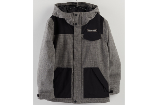 Burton Boys Dugout jacket bog Heather
