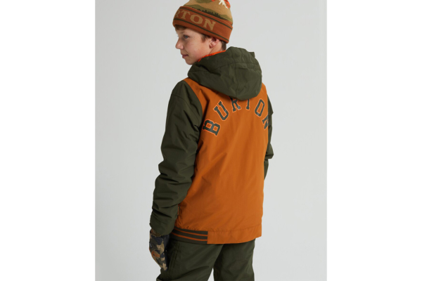 Burton Boys game Day Jacket True Penny back