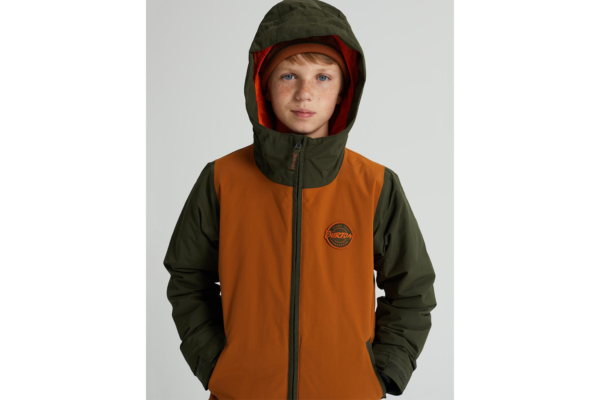 Burton Boys game Day Jacket True Penny detalj