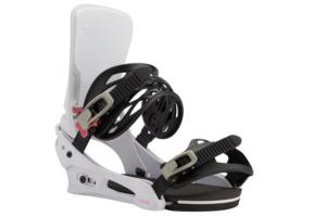 Burton Cartel White snowboard bindning