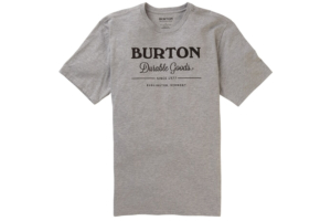 Burton Durable Goods T-Shirt grey heather