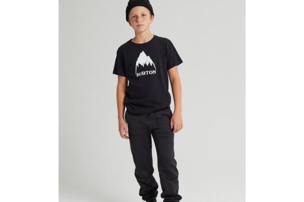Burton Kids classic high mountain t-shirt black 1