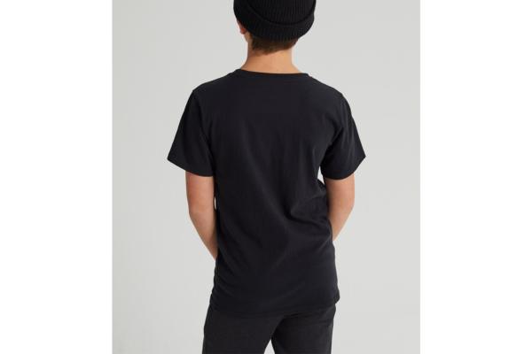 Burton Kids classic high mountain t-shirt black back