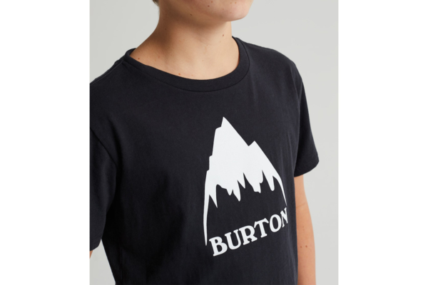 Burton Kids classic high mountain t-shirt black detalj