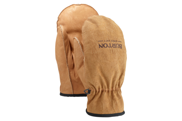 Burton work Horse Leather Mitten Raw Hide