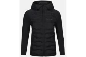 Peak Performance W Argon Hybrid Hood Jacket Black