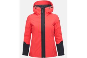 Peak Performance W Rider Ski Jacket Polar Red