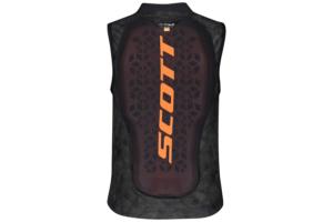 Scott AirFlex Jr Vest Protector dark greypumpkin orange ryggskydd