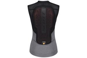Scott AirFlex W's Light Vest Protector blackdark grey melange ryggskydd