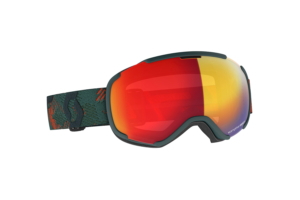 Scott Goggle Faze II sombre greenpumpkin orange enhancer red chrome