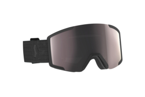 Scott Goggle Shield + extra lens black enhancer silver chrome