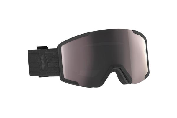 Scott Goggle Shield + extra lens black enhancer silver chrome