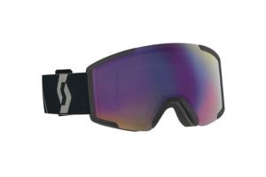 Scott Goggle Shield + extra lens mountain black enhancer teal chrome