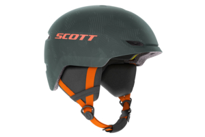 Scott Helmet Keeper 2 Plus sombre greenpumpkin orange skidhjälm