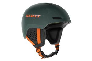 Scott Helmet Track Plus greenpumpkin orange skidhjälm