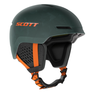 Scott Helmet Track Plus greenpumpkin orange skidhjälm