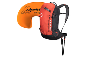 Scott Pack Patrol E1 22 Kit burnt orangeblack lavin ryggsäck