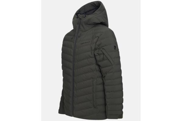 Peak Performance Frost Ski Jacket (Coniferous Green) side