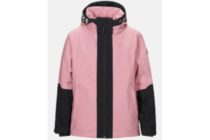 Peak Performance Jr Rider Ski Jacket Frosty Rose, rosa skidjacka