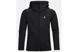 Peak Performance Jr Rider Zip hood Black