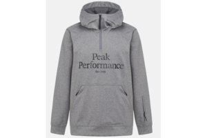 Peak Performance M Original Ski SS Hood (Grey Melange)