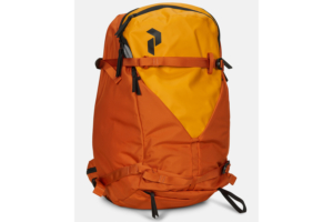 Peak Performance Vertical Ski Backpack Orange