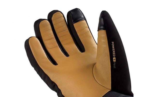 Therm-ic Pow Gloves Ski Light (Black)