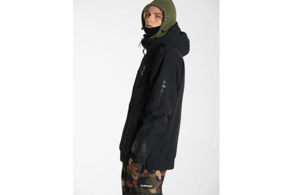Armada Baxter insulated jacket black side