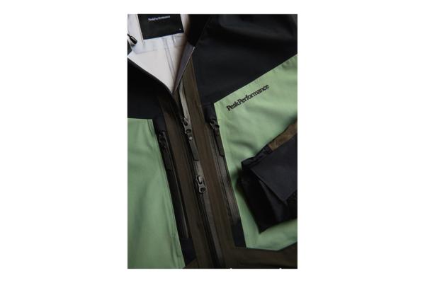 Peak Performance Gravity Jacket (Coniferous Green) detalj