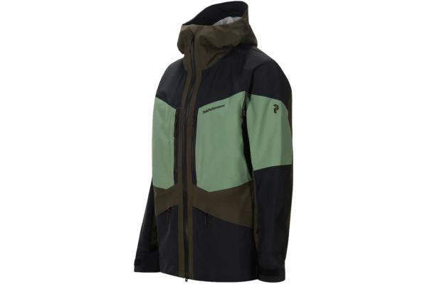Peak Performance Gravity Jacket (Coniferous Green) side
