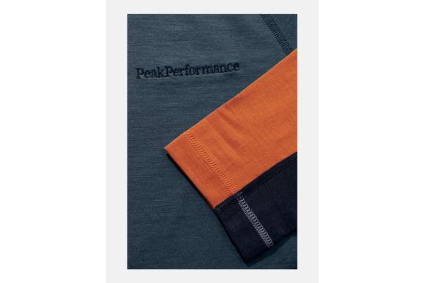 Peak Performance Magic Crew (Blue Steel) detalj