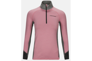 Peak Performance W Magic Half Zip (Frosty Rose)