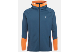 Peak Performance Rider Zip hood Blue Steel