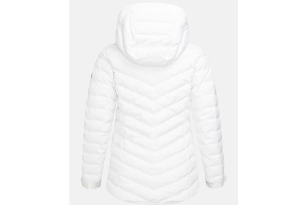 Peak Performance W Frost Ski Jacket (Offwhite) back