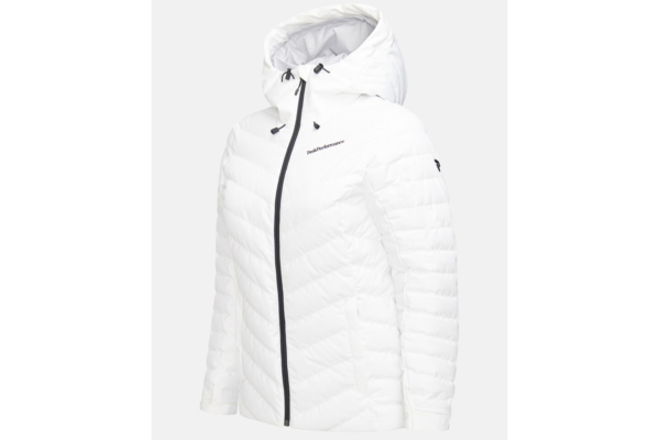 Peak Performance W Frost Ski Jacket (Offwhite) side