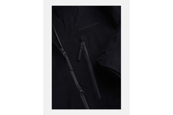 Peak Performance W Vertical 3L Jacket (Black) detalj