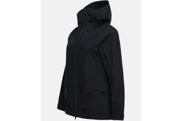 Peak Performance W Vertical 3L Jacket (Black) side