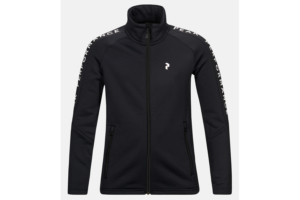 Peak performance jr rider zip jacket black