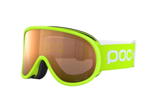 POC POCito Retina Fluorescent Yellow Green skidglasögon
