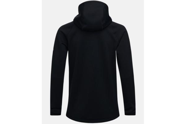 Peak Performance Chill Zip Hood (Black) Back