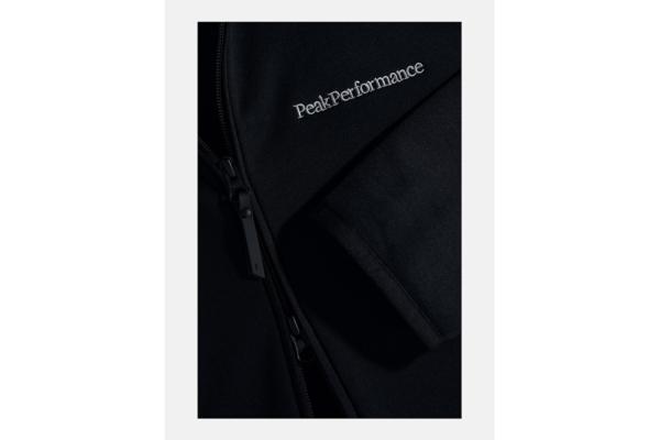 Peak Performance Chill Zip Hood (Black) detalj